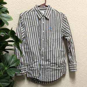🔺Nice Old Navy Striped Button Up Shirt w/ Pocket
